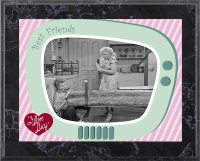 I Love Lucy - Baking Bread plaque