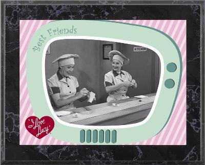 I Love Lucy - Chocolate Factory plaque