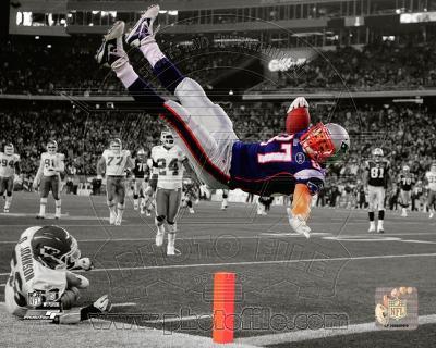 NFL Rob Gronkowski 2011 Spotlight Action