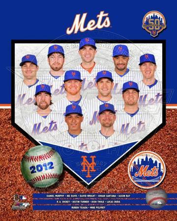 2012 New York Mets Team Composite