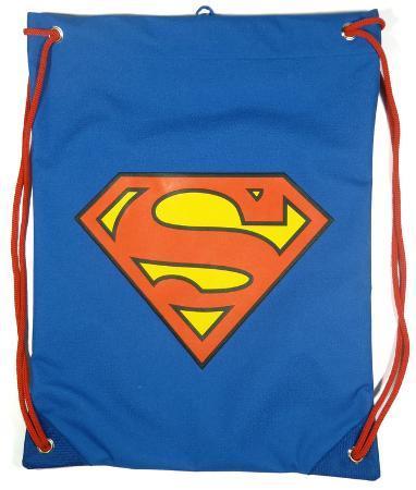 Superman Logo Cinch Bag