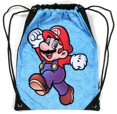 Super Mario Brothers Cinch Bag