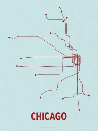 Chicago (Light Blue & Red)