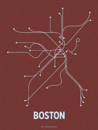 Boston (Maroon & Pale Blue)