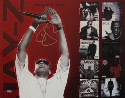 Jay Z Discography Autographed Music Photo (Hand Signed Collectable)