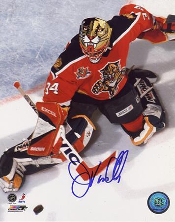 John Vanbiesbrouck Panthers Overhead Save Photo