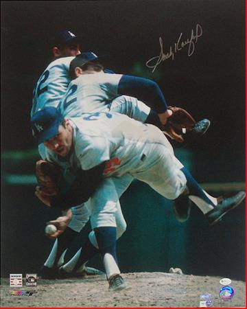 Sandy Koufax Multi Exposure Autographed Photo (Hand Signed Collectable)