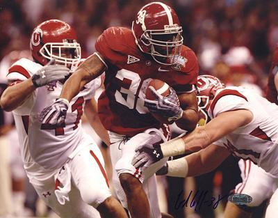 Glen Coffee Rush vs Utah Autographed Photo (Hand Signed Collectable)