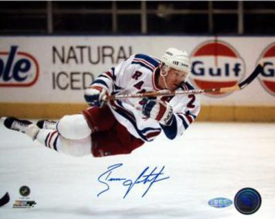 Brian Leetch In Air Horizontal graph