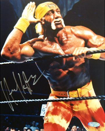 Hulk Hogan - WWE - Closeup graph Autographed Photo (Hand Signed Collectable)