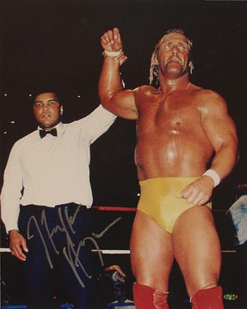 Hulk Hogan - WWE - With Ali Autographed Photo (Hand Signed Collectable)