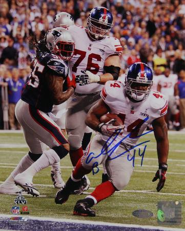 Ahmad Bradshaw SB XLVI Game Winning TD Signed Autographed Photo (Hand Signed Collectable)