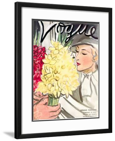 Vogue Cover - January 1933