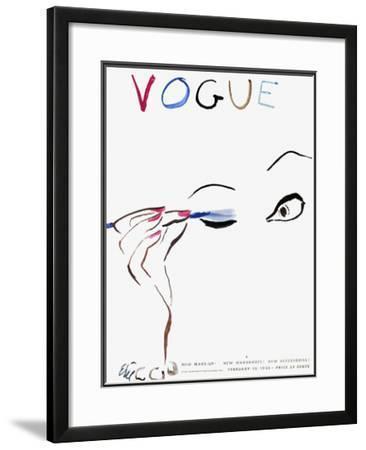Vogue Cover - February 1935