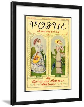 Vogue Cover - April 1910
