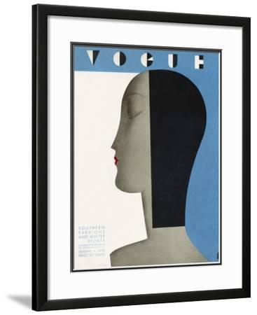 Vogue Cover - January 1930