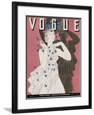 Vogue Cover - February 1932