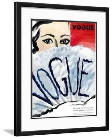 Vogue Cover - June 1932