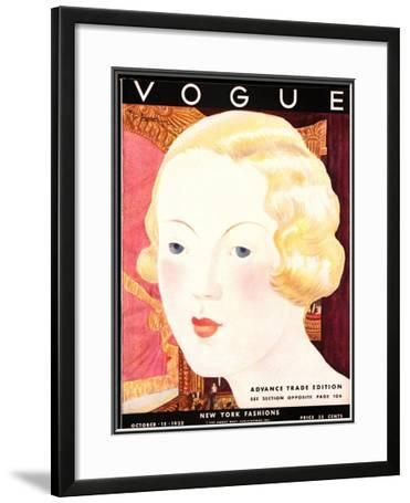 Vogue Cover - October 1932