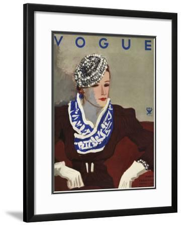 Vogue Cover - October 1933