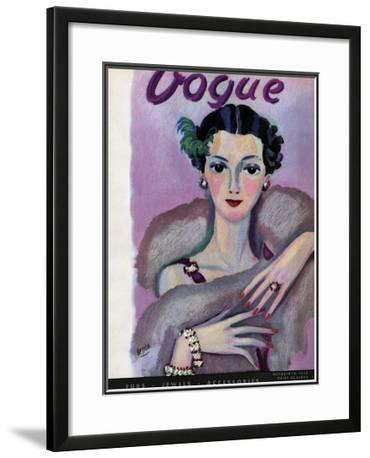 Vogue Cover - October 1934
