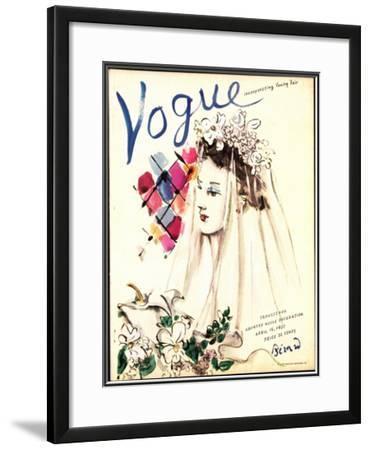 Vogue Cover - April 1937