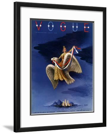Vogue Cover - February 1938