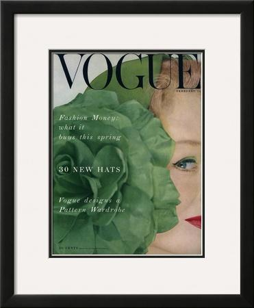 Vogue Cover - February 1953