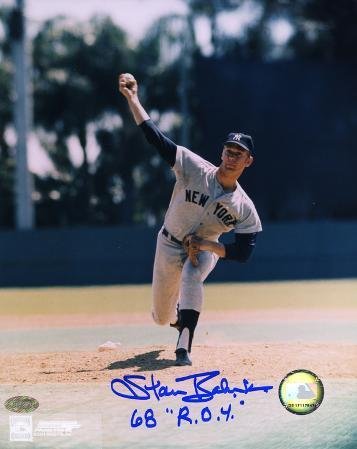 Stan Bahnsen New York Yankees Autographed Photo (Hand Signed Collectable)