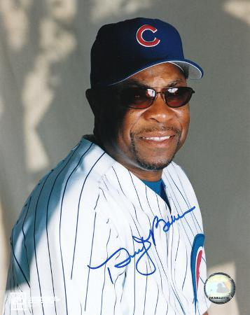Dusty Baker Chicago Cubs Autographed Photo (Hand Signed Collectable)