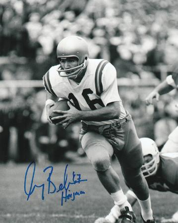 Gary Beban UCLA Bruins with 67 Heisman Inscription Autographed Photo (Hand Signed Collectable)