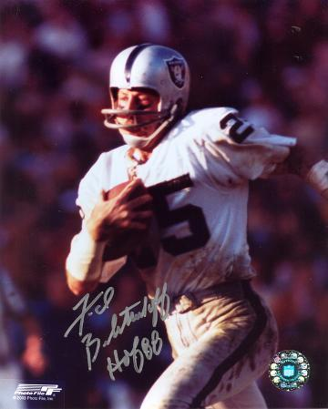 Fred Biletnikoff Oakland Raiders with HOF 88  Autographed Photo (Hand Signed Collectable)