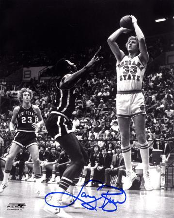 Larry Bird Indiana State Sycamores Autographed Photo (Hand Signed Collectable)
