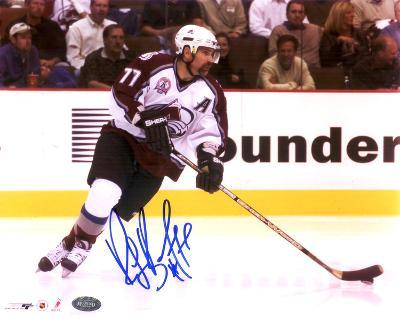 Ray Bourque Colorado Avalanche Stanley Cup Autographed Photo (Hand Signed Collectable)