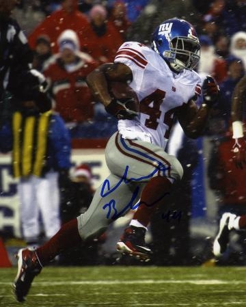 Ahmad Bradshaw New York Giants Autographed Photo (Hand Signed Collectable)