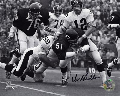 Dick Butkus Chicago Bears Autographed Photo (Hand Signed Collectable)
