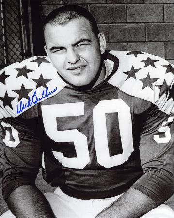 Dick Butkus Illinois Fighting Illini - All-Star Game Autographed Photo (Hand Signed Collectable)