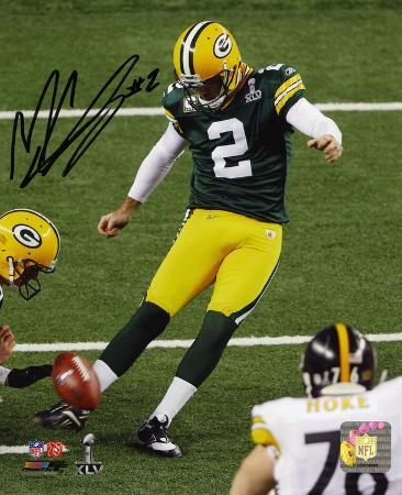 Mason CroSuper Bowly Green Bay Packers Autographed Photo (Hand Signed Collectable)