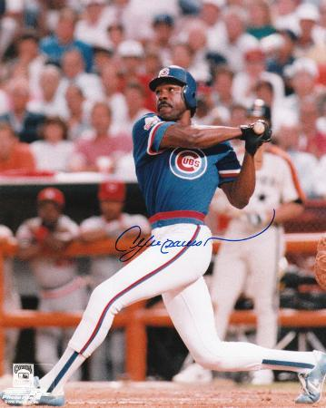 Andre Dawson Chicago Cubs Autographed Photo (Hand Signed Collectable)