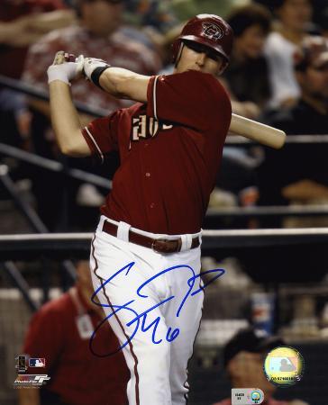 Stephen Drew Arizona Diamondbacks Autographed Photo (Hand Signed Collectable)