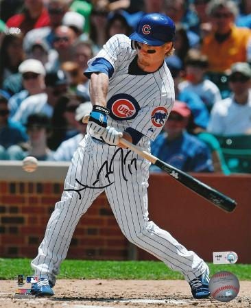 Mike Fontenot Chicago Cubs Autographed Photo (Hand Signed Collectable)