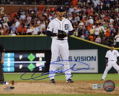Armando Galarraga Detroit Tigers Autographed Photo (Hand Signed Collectable)