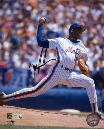 "Dwight ""Doc"" Gooden New York Mets Autographed Photo (Hand Signed Collectable)"