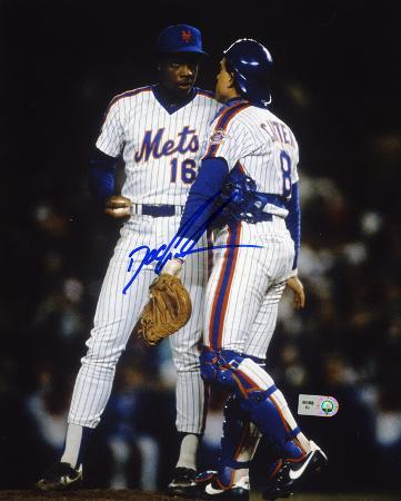 "Dwight ""Doc"" Gooden New York Mets - with Gary Carter Autographed Photo (Hand Signed Collectable)"