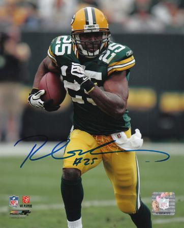 Ryan Grant Green Bay Packers Autographed Photo (Hand Signed Collectable)
