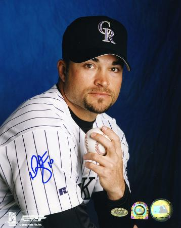 Mike Hampton Colorado Rockies Autographed Photo (Hand Signed Collectable)