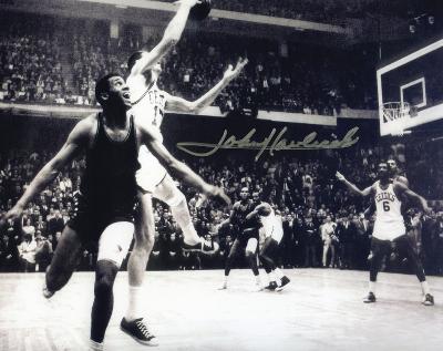 John Havlicek Boston Celtics Autographed Photo (Hand Signed Collectable)
