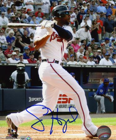 Jason Heyward Autographed Photo (Hand Signed Collectable)