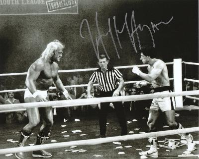 Hulk Hogan - WWE - Rocky III Autographed Photo (Hand Signed Collectable)