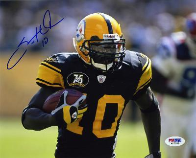 Santonio Holmes PittsburgSteelers Autographed Photo (Hand Signed Collectable)